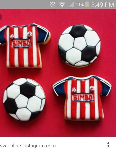 Chivas Soccer Cookies Soccer And Beer Cakes In 2019