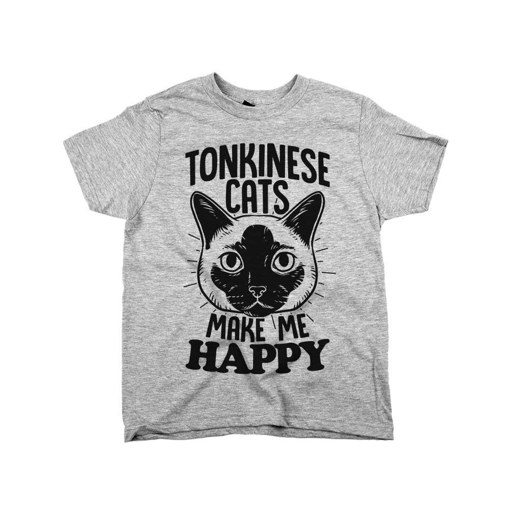 'Tonkinese Cats Make Me Happy' Tonkinese cat, Cat shirts