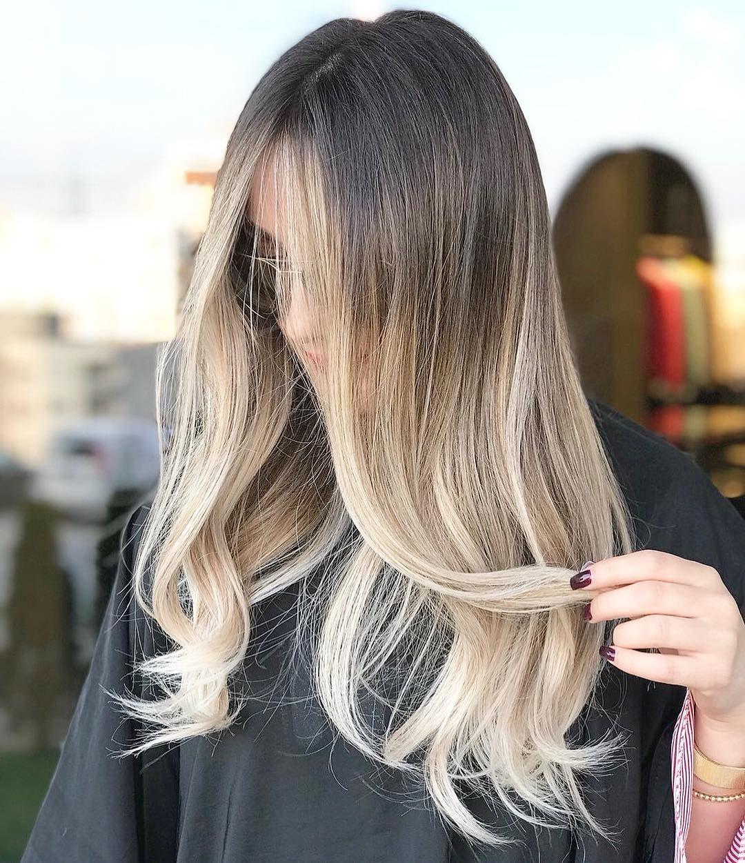 Kaci Lleshi On Instagram E Tahirsylaj Haircut Memadmoiselle Haircut Baliage Blondehair Ombre Haircolor By Me Kacill Baliage Hair Hair Balayage Hair