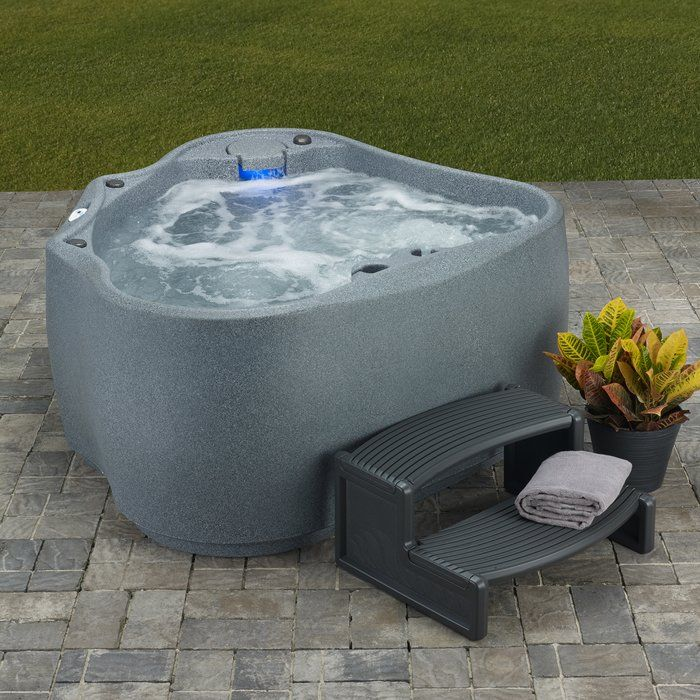Select 300 2 Person 20 Jet Plug And Play Hot Tub With Led