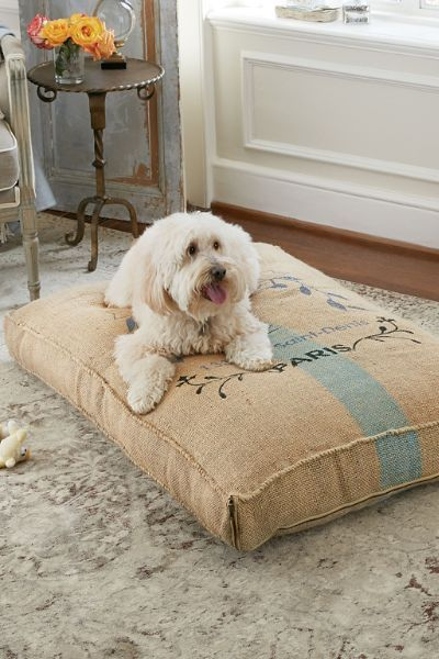 Grain Sac Pet Cushion - Jute Pet Cushion, Durable Pet Cushion | Soft ...