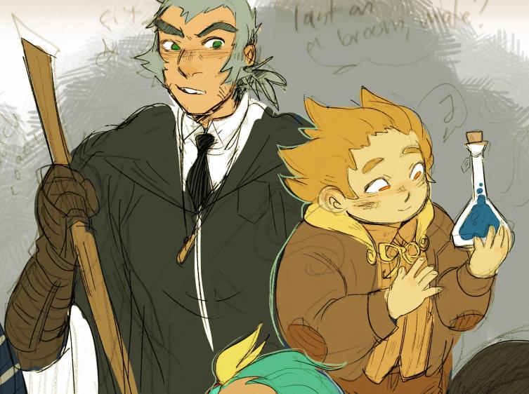 Coach Bunnymund And Professor Mansnoozie