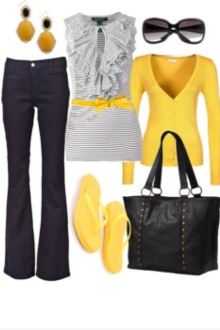 Yellow & Gray