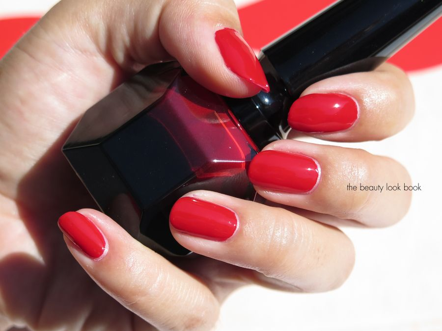 Louboutin Rouge Nail Colour Louboutin Rouge Is A Deep Rich Red