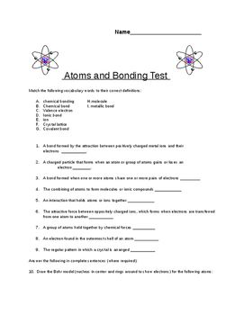 8th grade quiz on atomic structure atomic number and periodic table this is a quiz i designed for my 8th grade science students after an introduction to the periodic table they will need to have access to a printed up copy urtaz Images