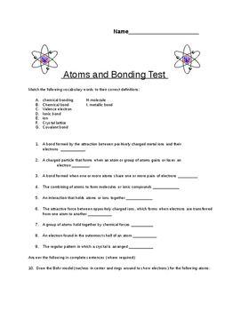 8th grade quiz on atomic structure atomic number and periodic table 8th grade quiz on atomic structure urtaz Gallery