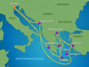 11 Night Greece Turkey  Croatia Cruise  Royal Caribbean