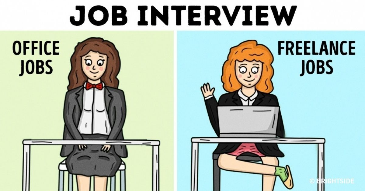 15 brilliant comic strips showing how freelance life is different to an office job