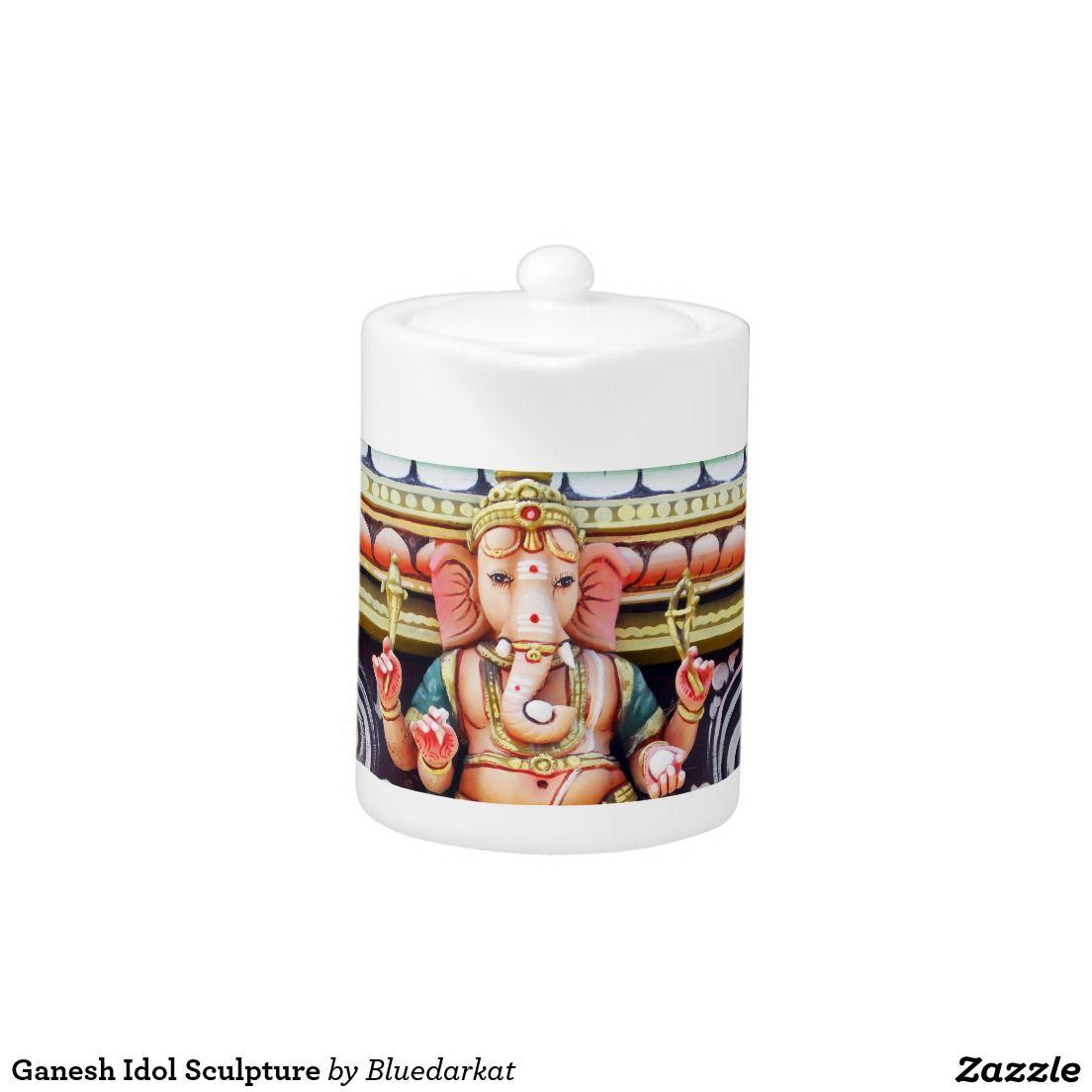 Ganesh Idol Sculpture Teapot