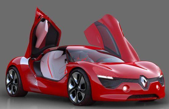 Renault DeZir runs on a fully electric drivetrain - Designbuzz