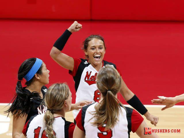 Volleyball Vs Georgia 9 7 13 Huskers Com Nebraska Athletics Official Web Site Athlete Volleyball Nebraska