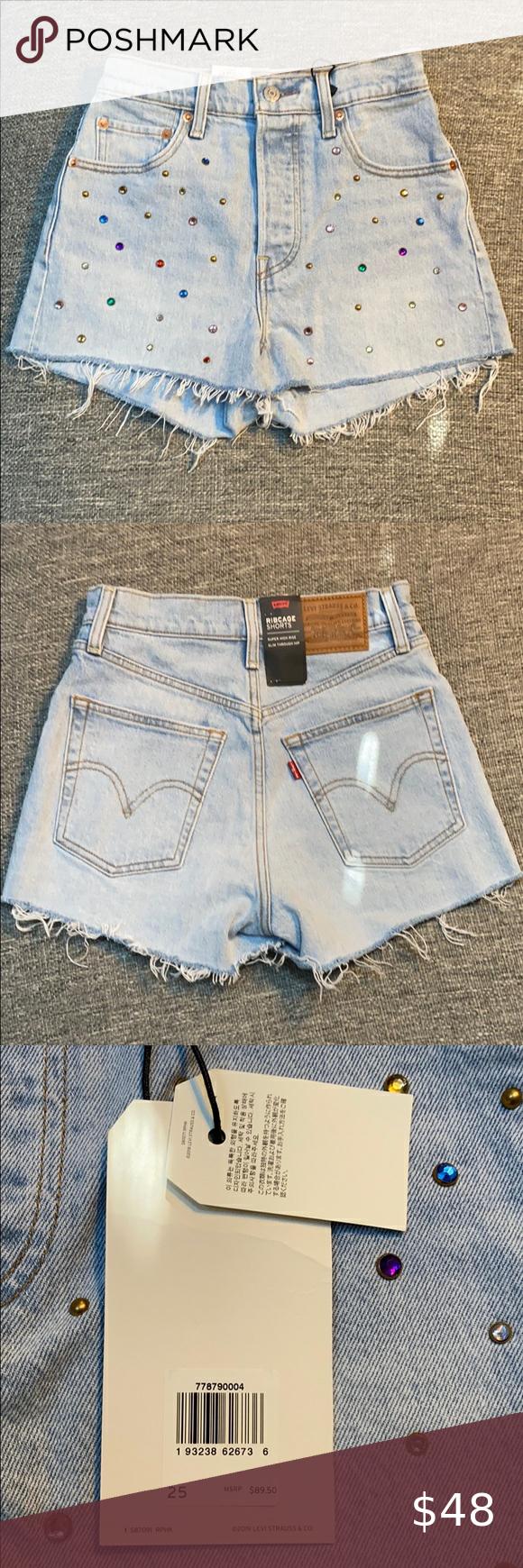 Vintage Lilly Pulitzer shorts women frayed denim jeans shorts size 4