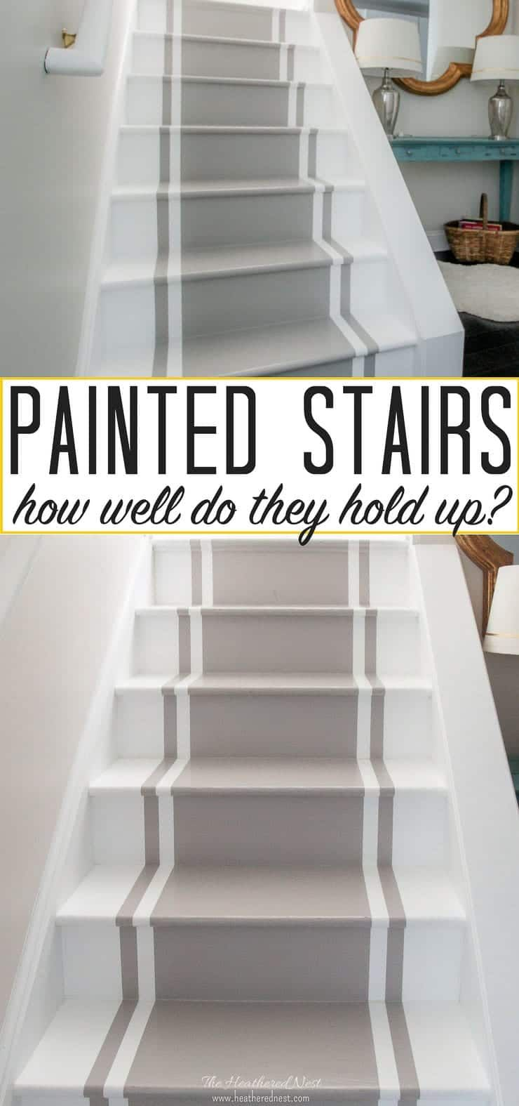 Pros And Cons Of Painted Stairs How Do They Hold Up Over The