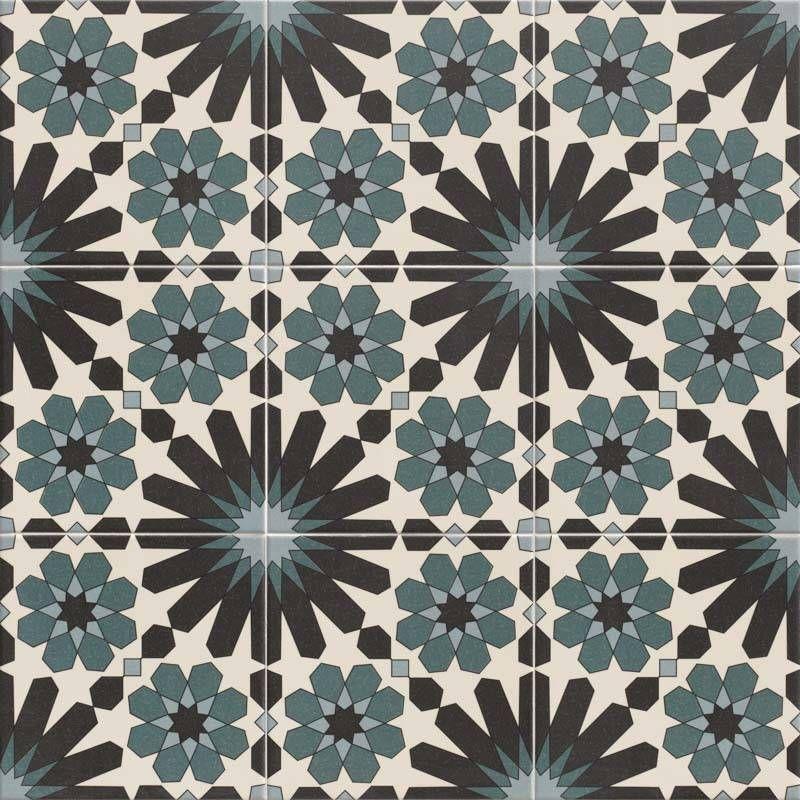 Azulejo Decor Zellige Carrelage Sol Et Mur 20x20 Ze0114001 Carrelage Motif Zellige Motif Geometrique
