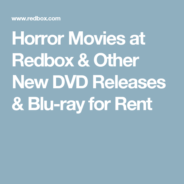 Horror Movies at Redbox   Other New DVD Releases   Blu-ray for Rent ... eb9339c71