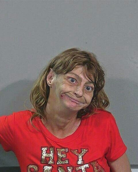 Woman Mugshot Christmas In July Best Funny Pictures