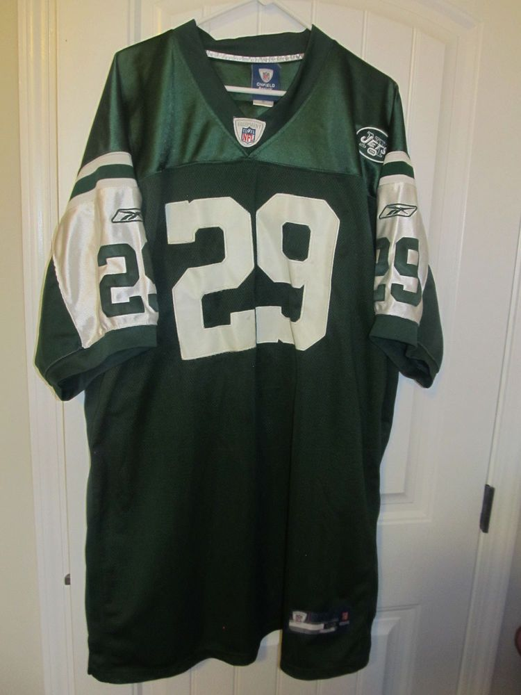 cheap for discount a06d5 1721a Leon Washington - New York Jets Authentic Jersey - Reebok ...