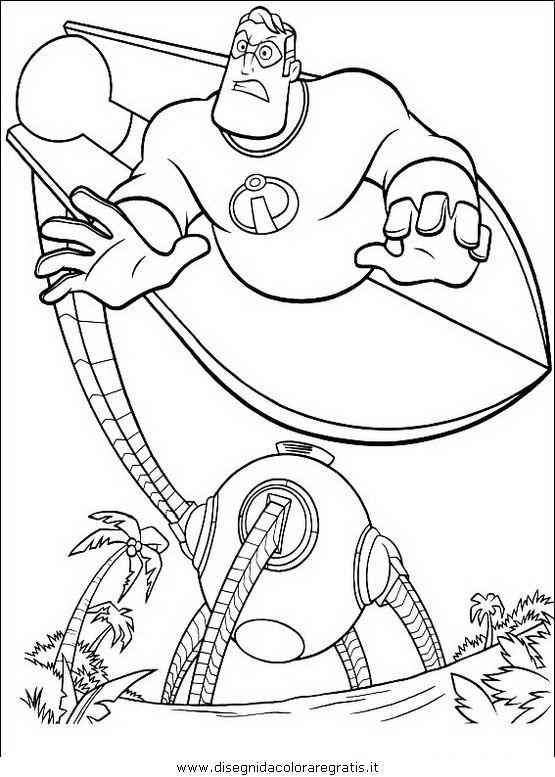Guarda Tutti I Disegni Da Colorare Degli Incredibili Www Bambinievacanze Com Coloring Pages The Incredibles Coloring Books