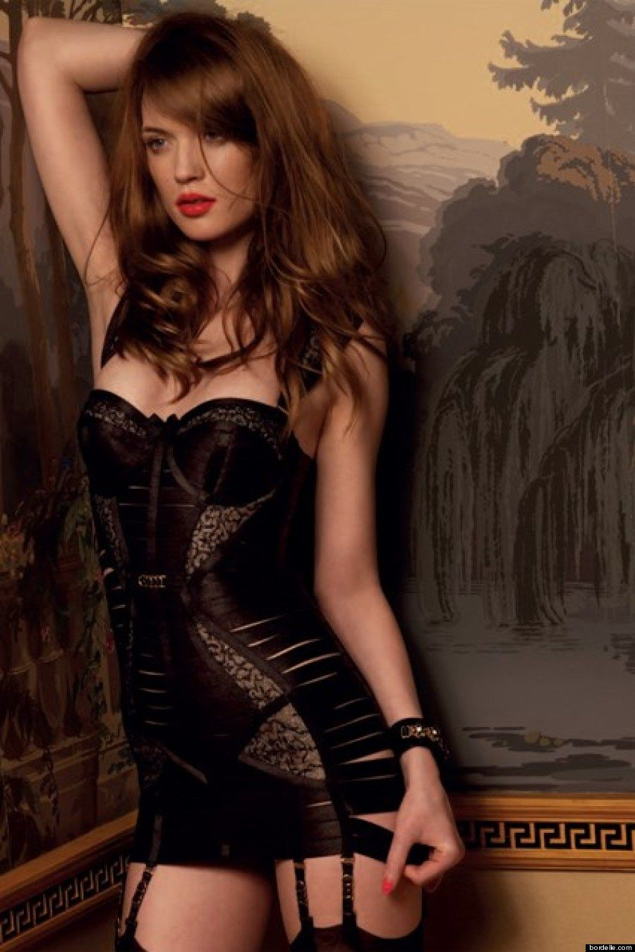 Most Expensive Lingerie  Bordelle Kicks Holidays Into High Gear With Naughty  Underwear b289316c9
