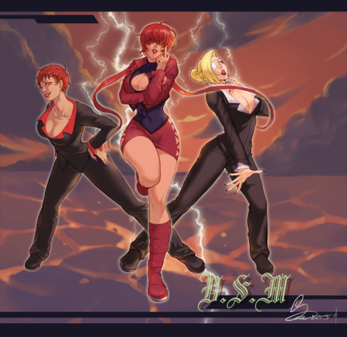 Sea The King Of Fighters King Of Fighters Fighter Girl Fighter
