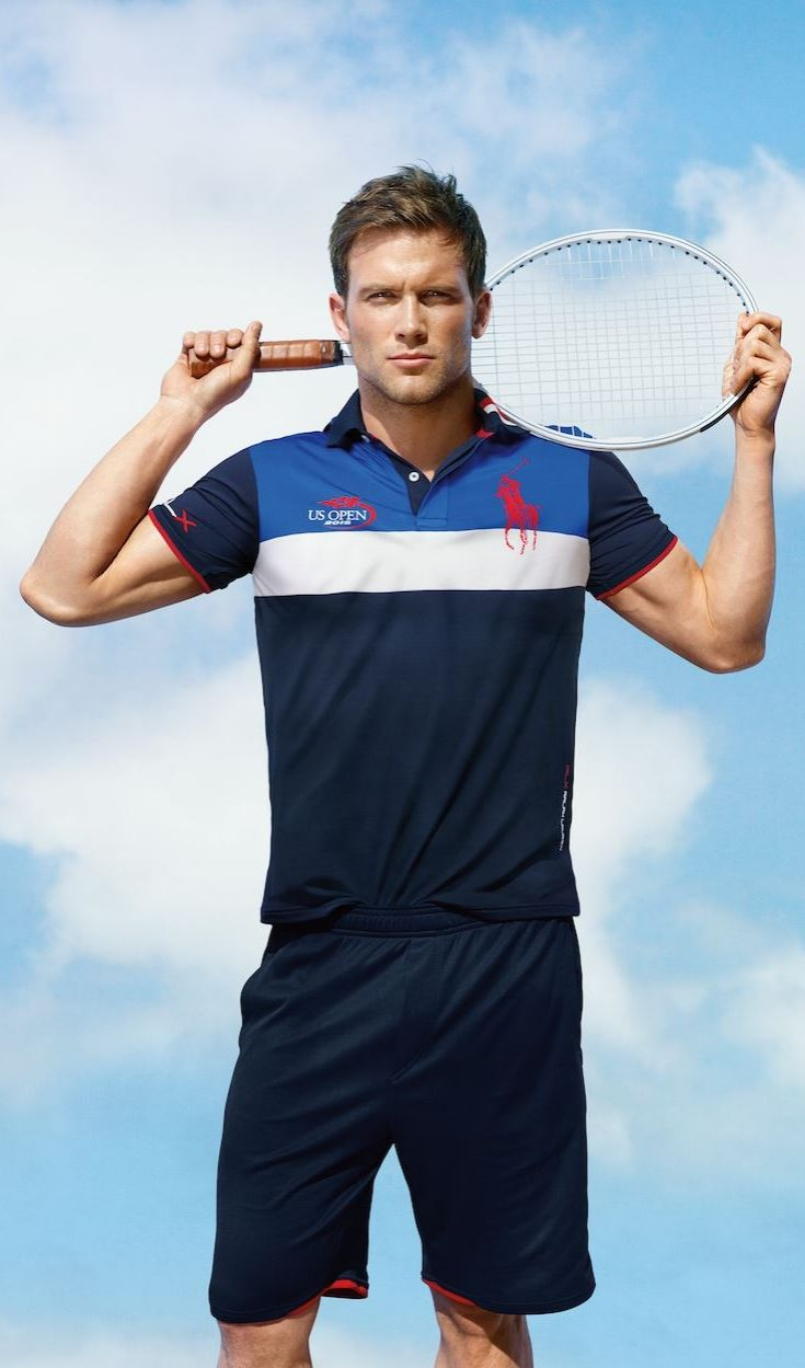 5be8a2e3 Part of the Polo Ralph Lauren collection celebrating the 2015 US Open, this  lightweight jersey