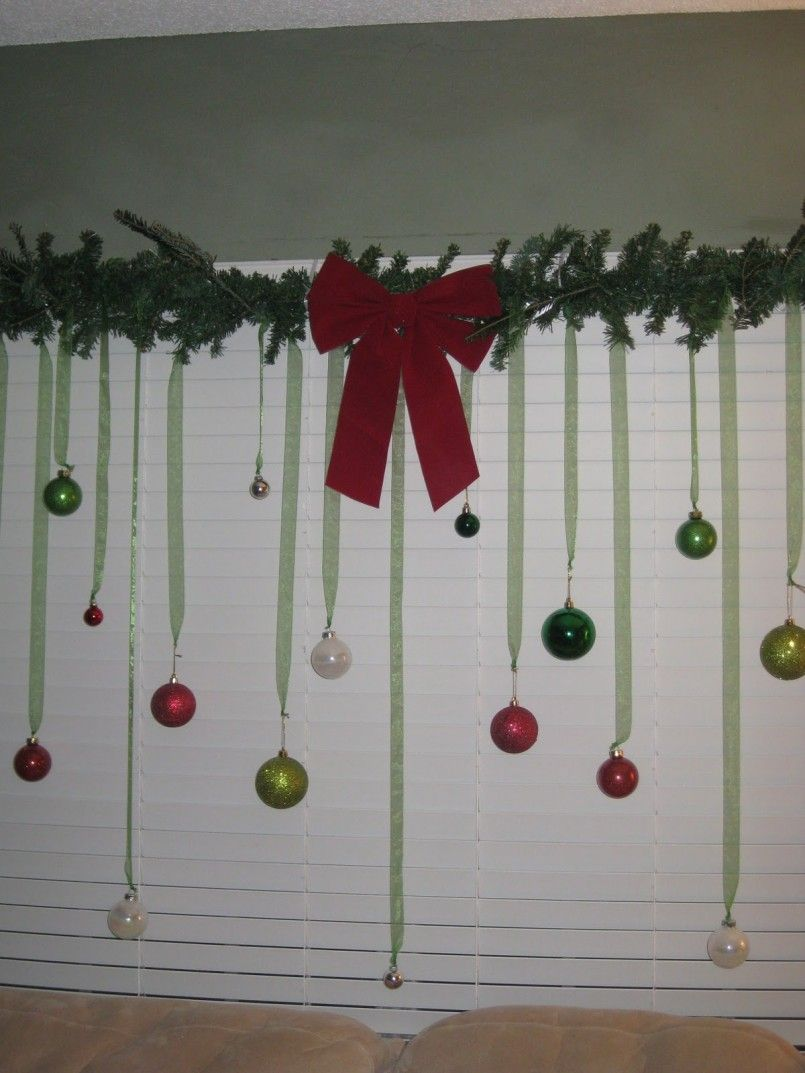 Christmas window decorations - Christmas Window Decor A Frugal Idea Saving Money Living Life
