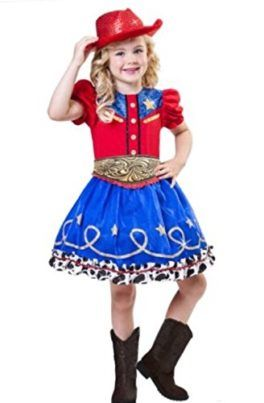 Cowgirl Cutie Costume Girls Medium (8-10) Western Glitter Red Hat 3 Piece Ruffles #Halloween #Cowgirl #Costume  sc 1 st  Pinterest & Cowgirl Cutie Costume Girls Medium (8-10) Western Glitter Red Hat 3 ...
