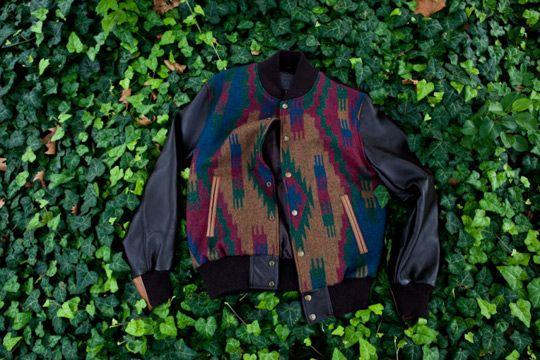 KITH x Pendleton Varsity Jackets - Dark