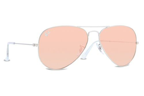 384f67d4e Ray Ban Women's RB3025 019/Z2 Silver/copper flash, Aviator 58mm Sunglasses