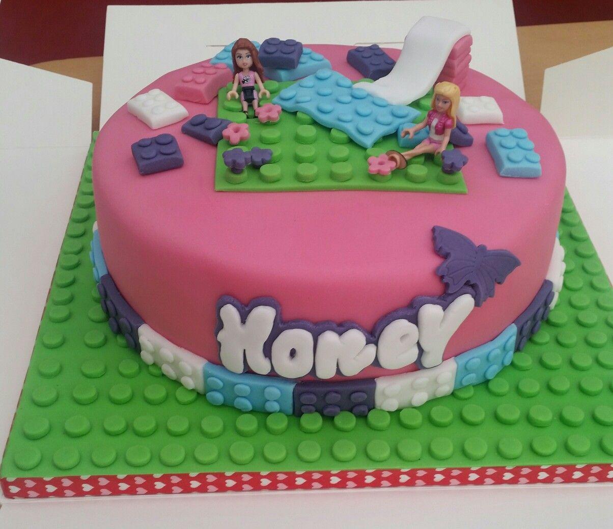Lego Friends Birthday Cake Lego Birthday Cake