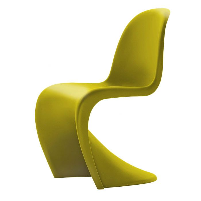 Vitra Panton Chair In Chartreuse Panton Chair Yellow Dining Chairs Verner Panton Chair