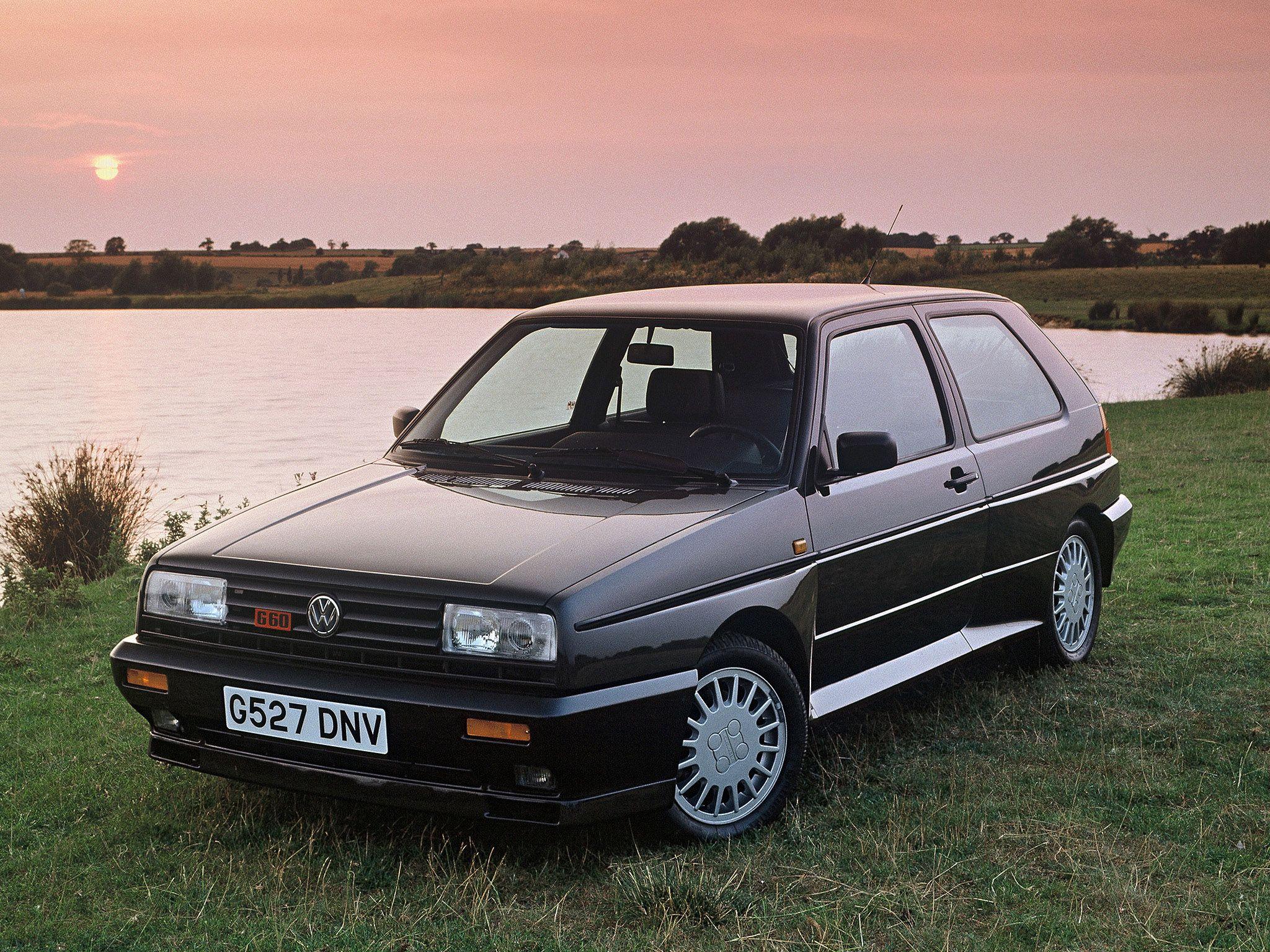 Volkswagen Golf Rallye G60 1989 Volkswagen Golf Mk1