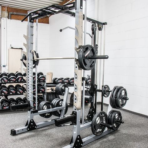 Smith Machine Master Gym Package By The Gym Revolution At Home Gym Home Gym Design No Equipment Workout