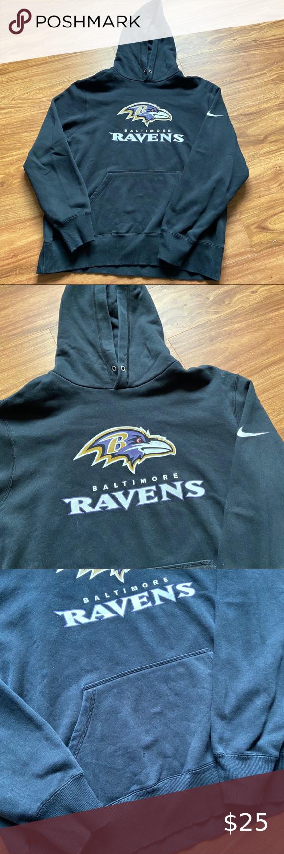 Predownload: Black Baltimore Ravens Nike Hoodie Black Baltimore Ravens Nike Hoodie Excellent Condition Small Hole And Missing Hoodie Nike Hoodie Sweatshirt Shirt Hoodies [ 1740 x 580 Pixel ]