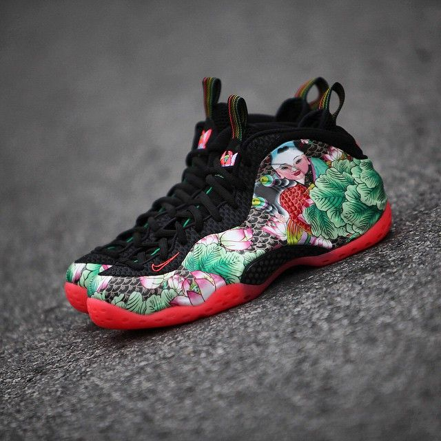Nike Air Foamposite One: China Doll | Kicks shoes, Sneakers