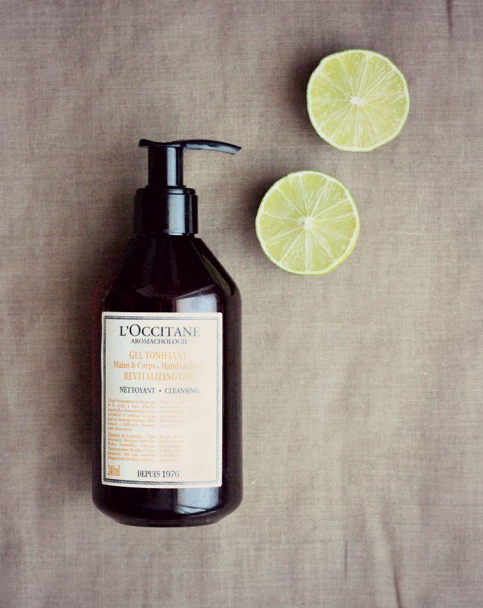 L'Occitane Belebendes Reinigungsgel für Hände Körper