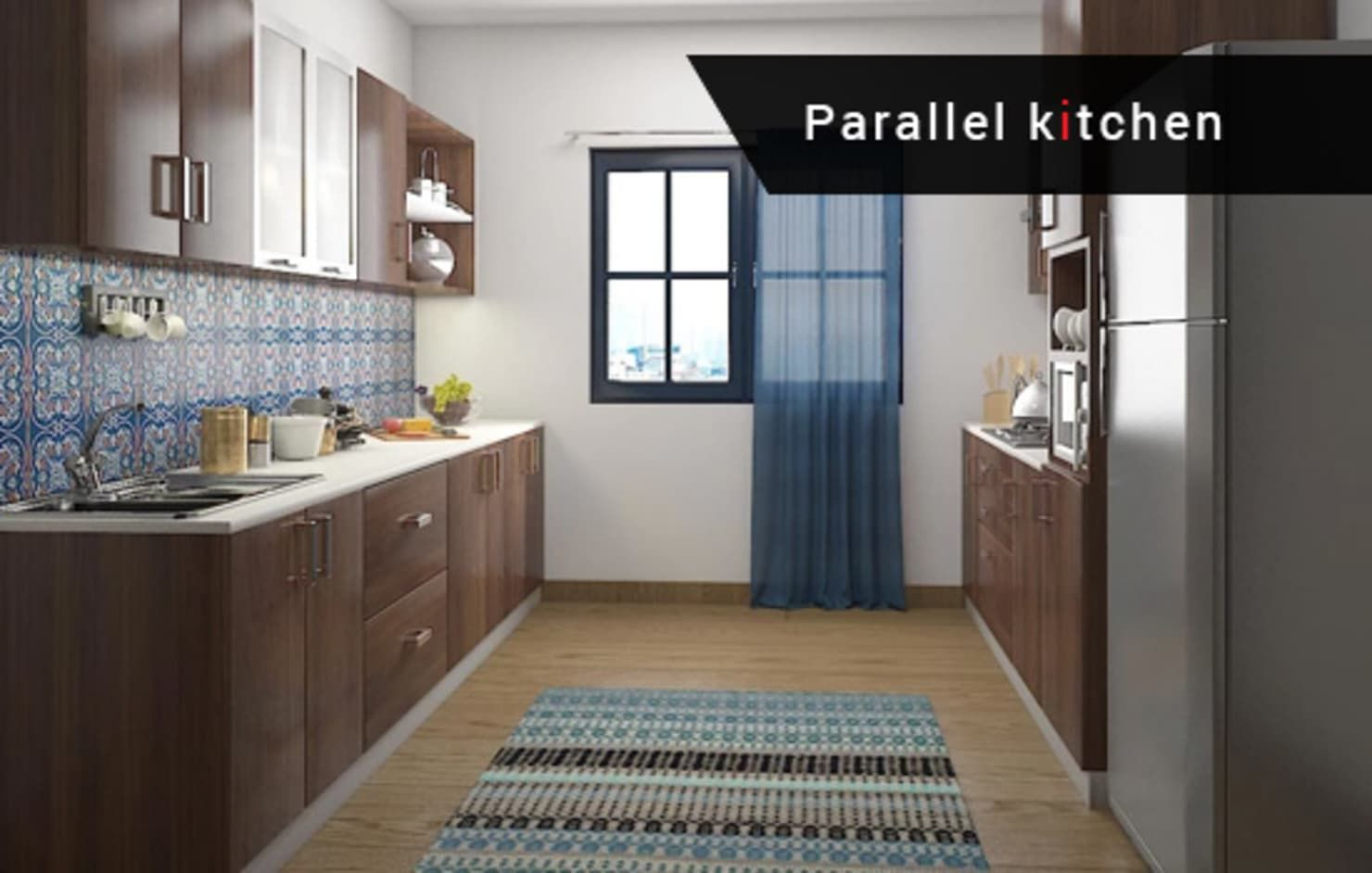 Best modular kitchen manufacturer in bangalore   homify   Parallel ...