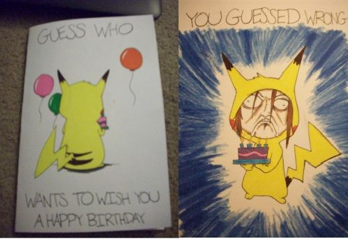 Birthday Card Tumblr Funny ~ Ambiguousintentions a birthday card i made for my cousin i am a