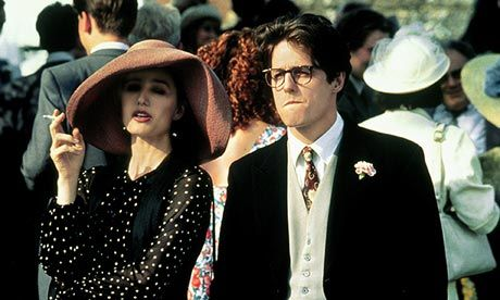 Kristin Scott Thomas In Four Weddings And A Funeral Loved This Hat It Suited Her Square Face Hugh Grant Kristin Scott Thomas Event Outfit