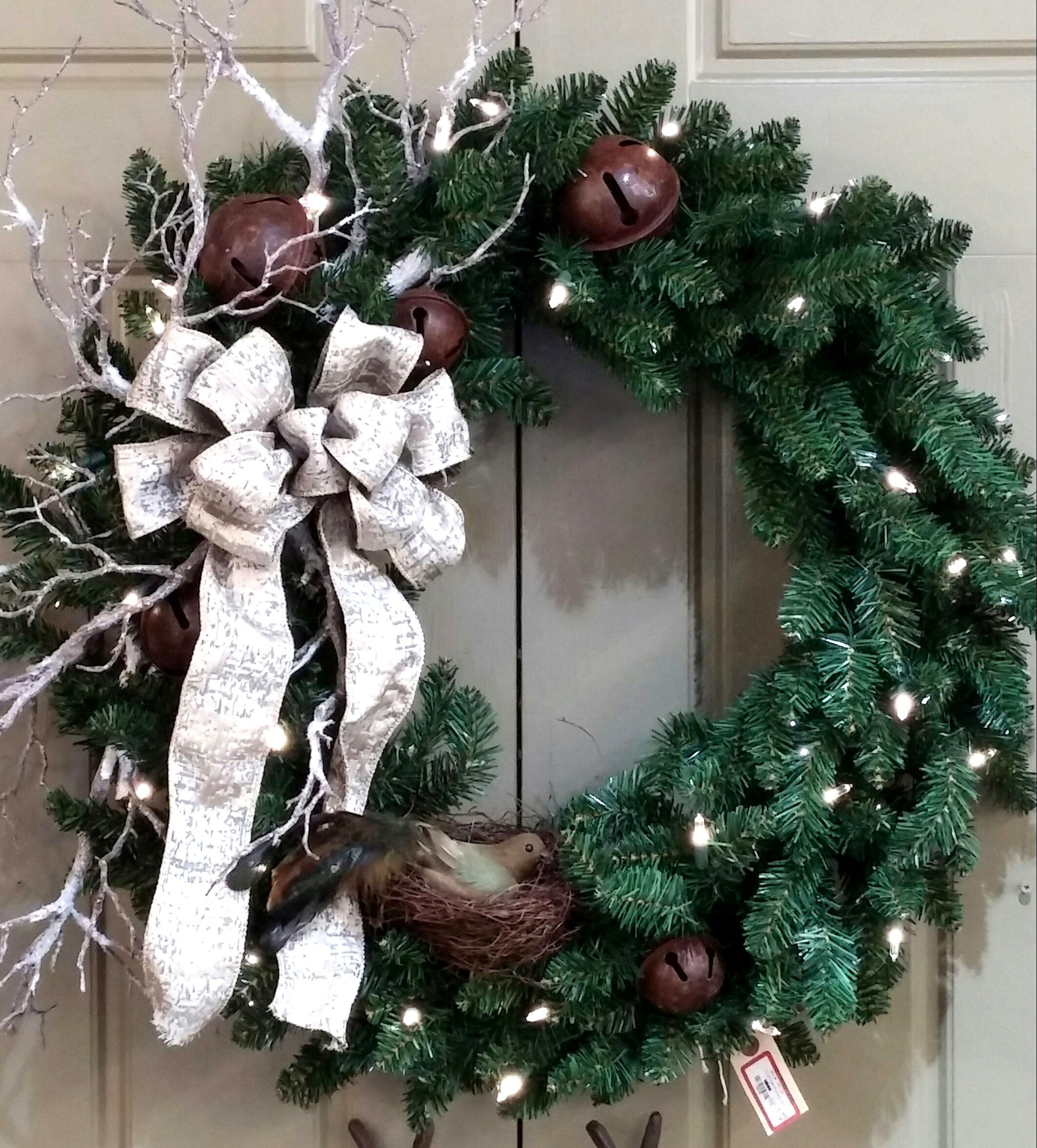 Our Designers Make Beautiful Permanent Wreaths! #wreath