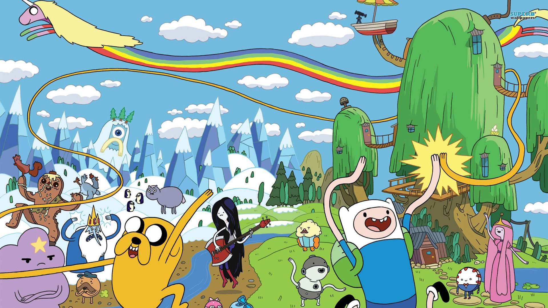 Adventure Time - Metroscene Mag