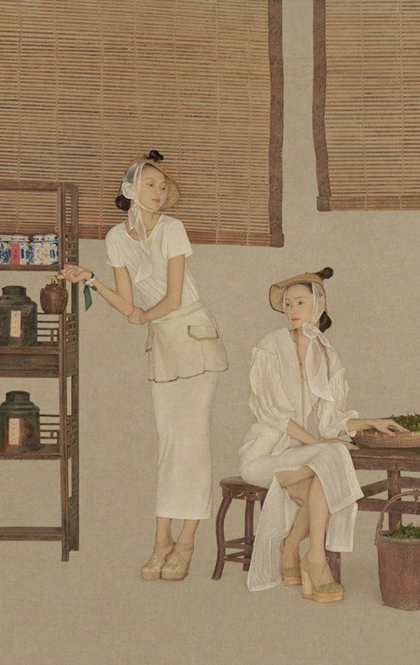 """the shanghai fashion photographer SUN JUN """"TEA"""" series /// NeochaEDGE ///"""