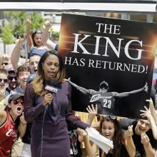 LeBron move makes Cavs a betting favorite in Vegas - CenturyLink