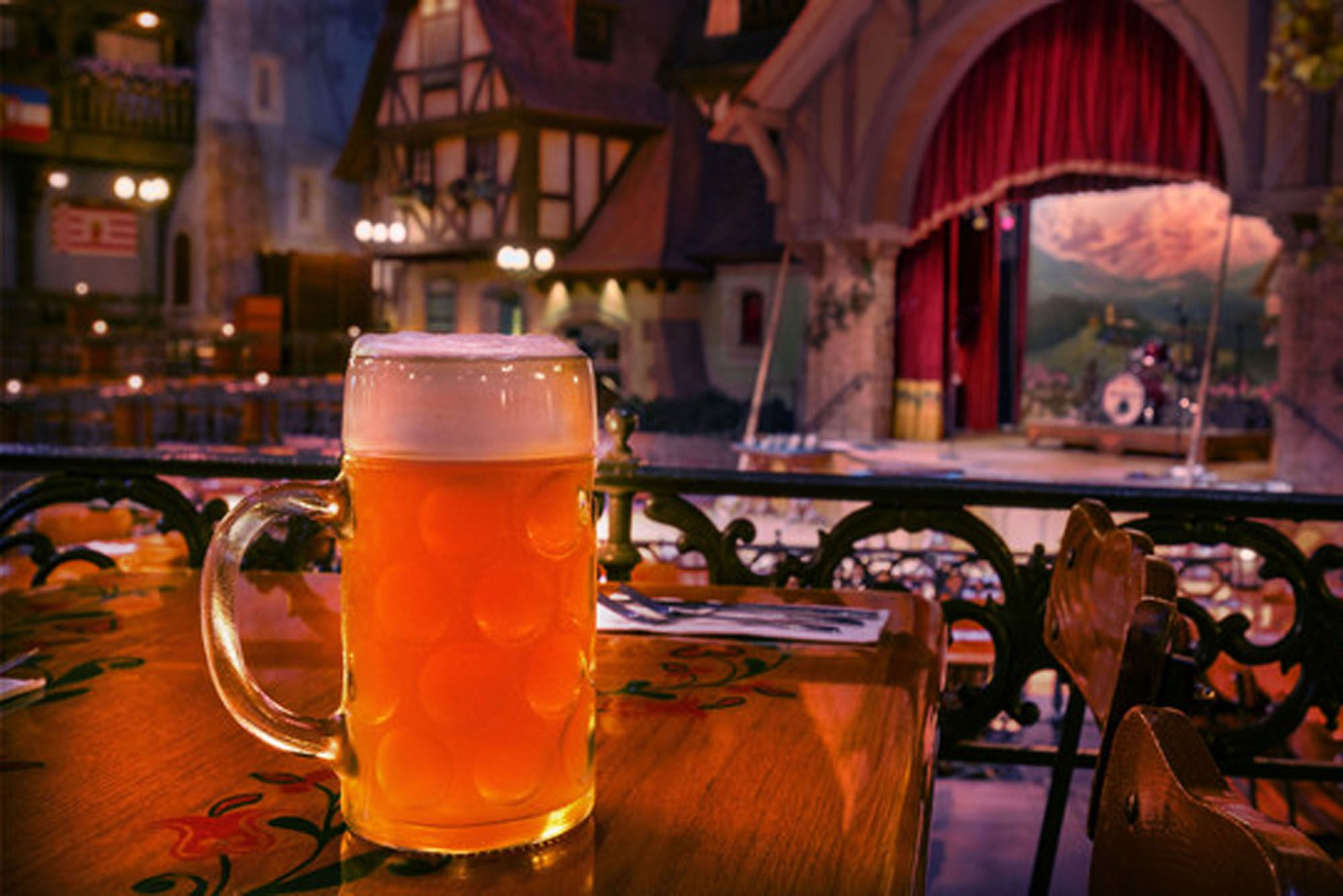 Beer in Epcot