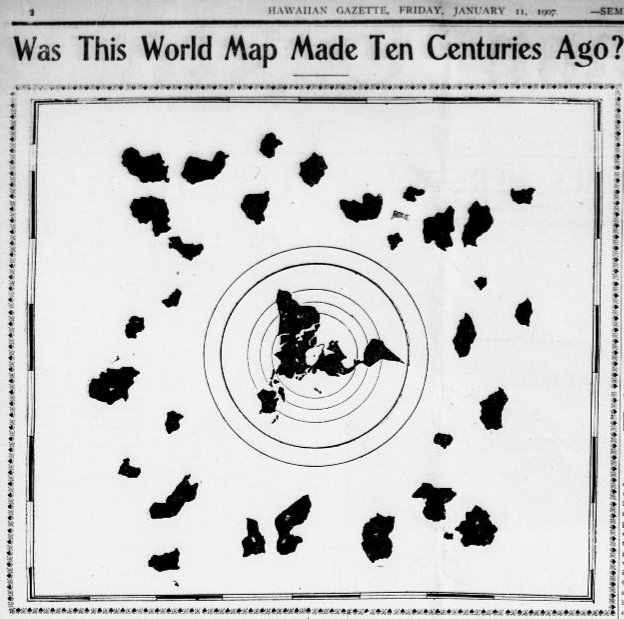 Flat Earth On a 1000 Year Old Buddhist Map  Out of Place