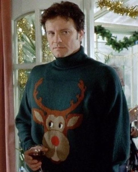 Colin Firth in Bridget Jones's Diary | 90's lovers