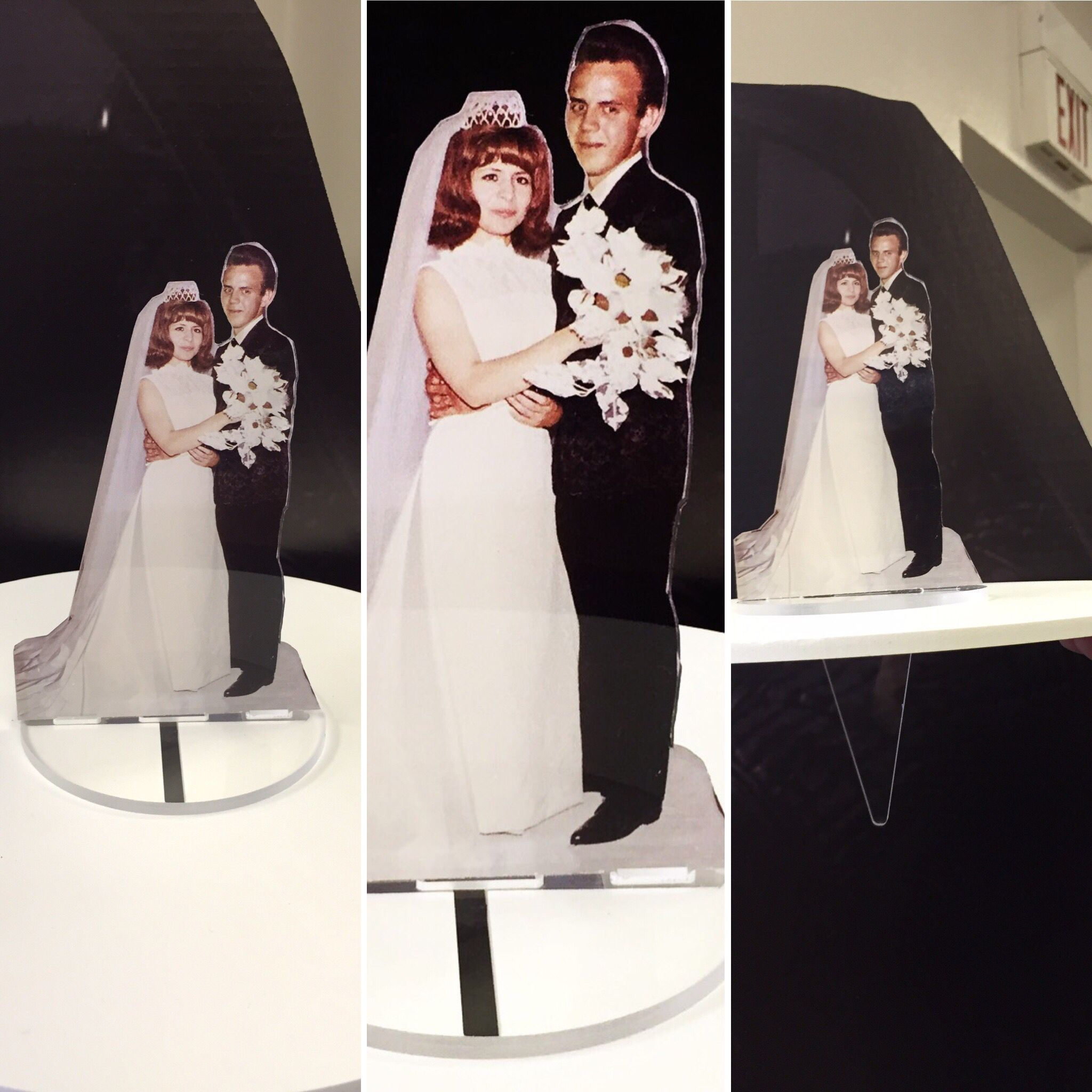 Custom acrylic cake topper  Available in any size  Mini cake