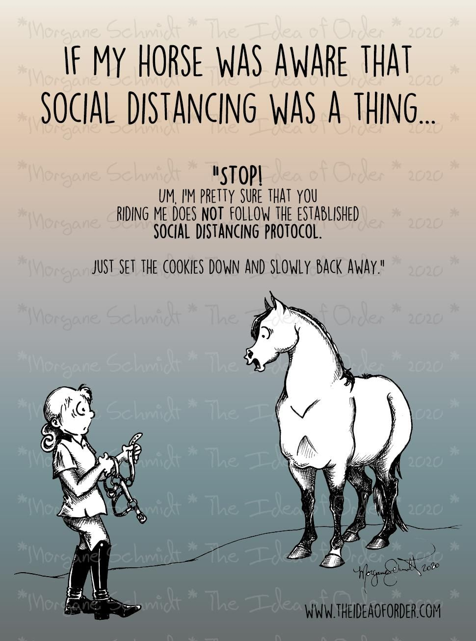 The Idea Of Order Social Distancing According To Your Horse Horse Quotes Funny Funny Horse Pictures Funny Horses