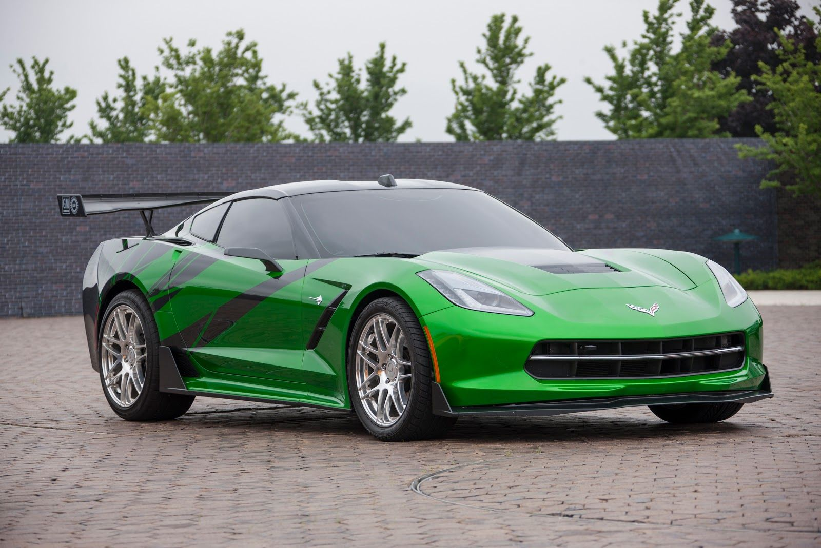 Green 2014 Chevrolet Corvette C7 Stingray Cars Chevrolet