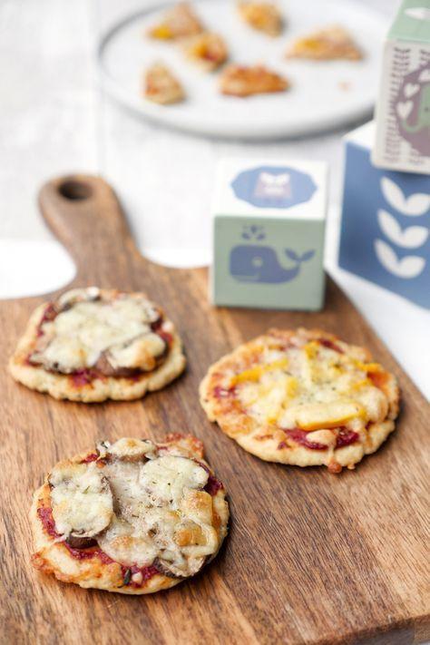 Gesunde und schnelle Pizza für Babys und Kleinkinder mit Quark